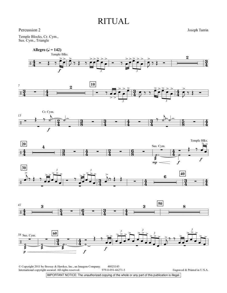 Ritual - Percussion 2
