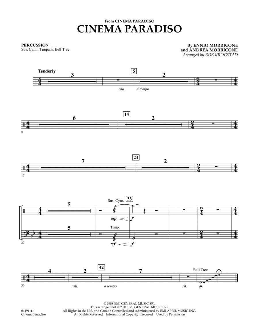 Cinema Paradiso - Percussion