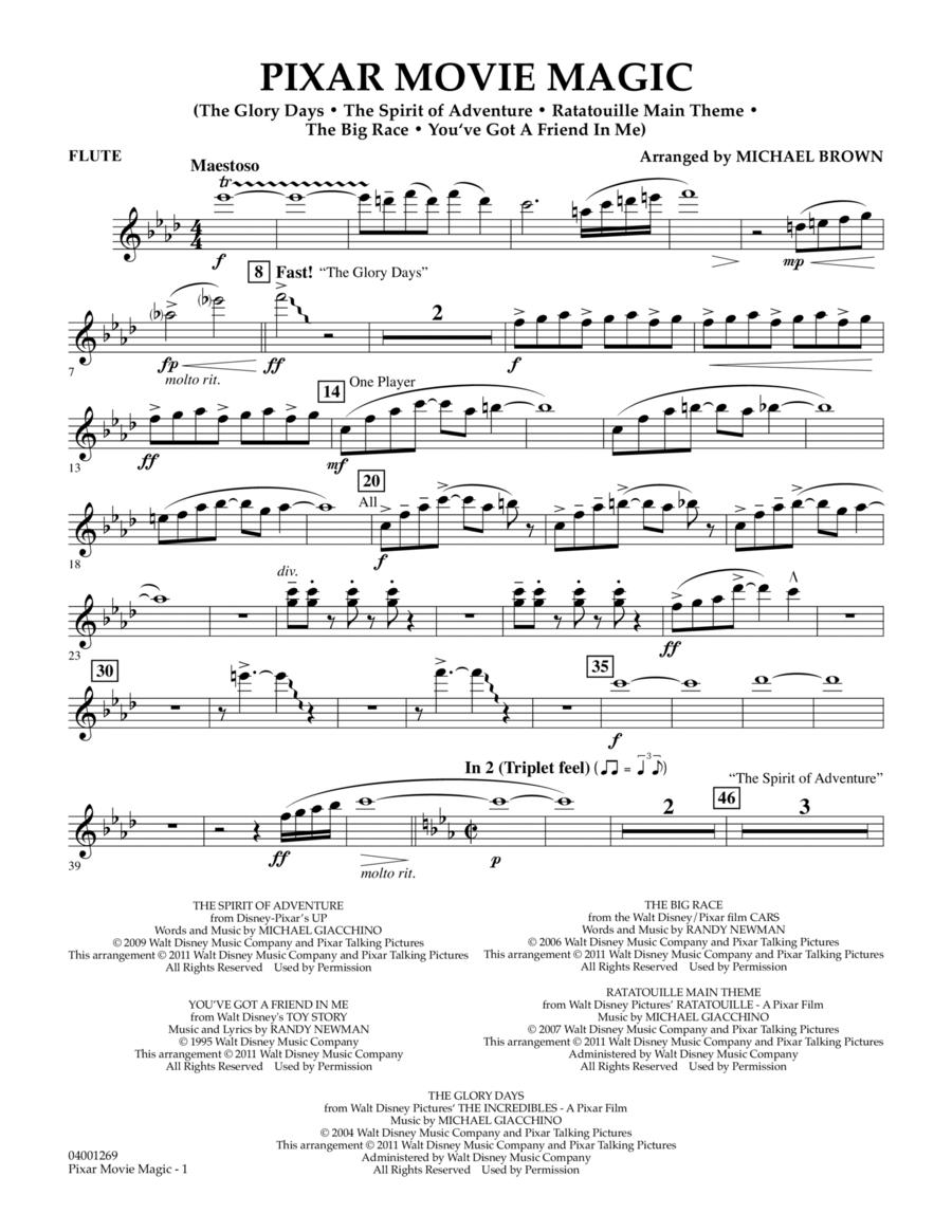 Pixar Movie Magic - Flute