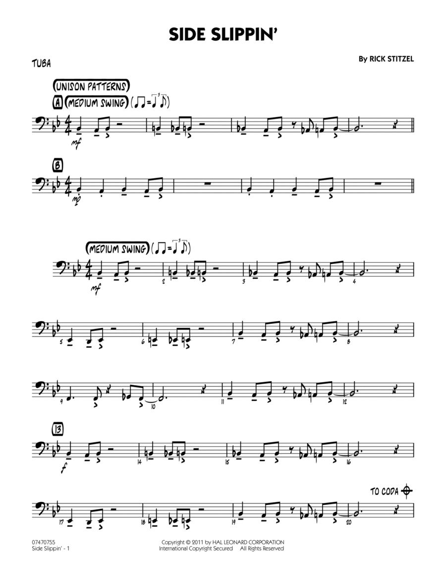 Side Slippin' - Tuba