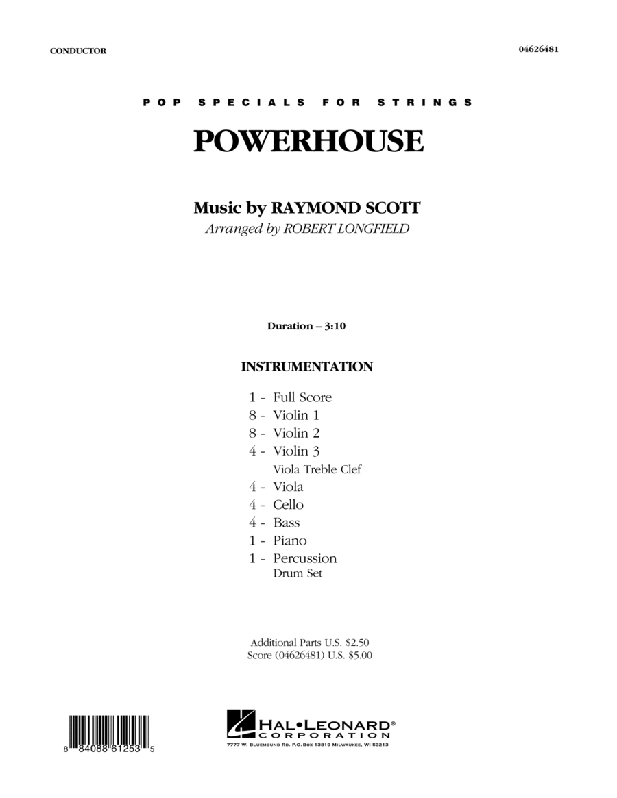 Powerhouse - Full Score