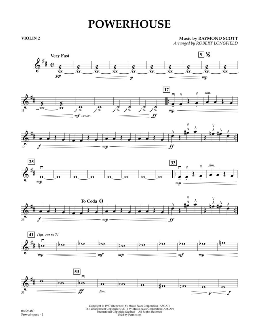 Powerhouse - Violin 2