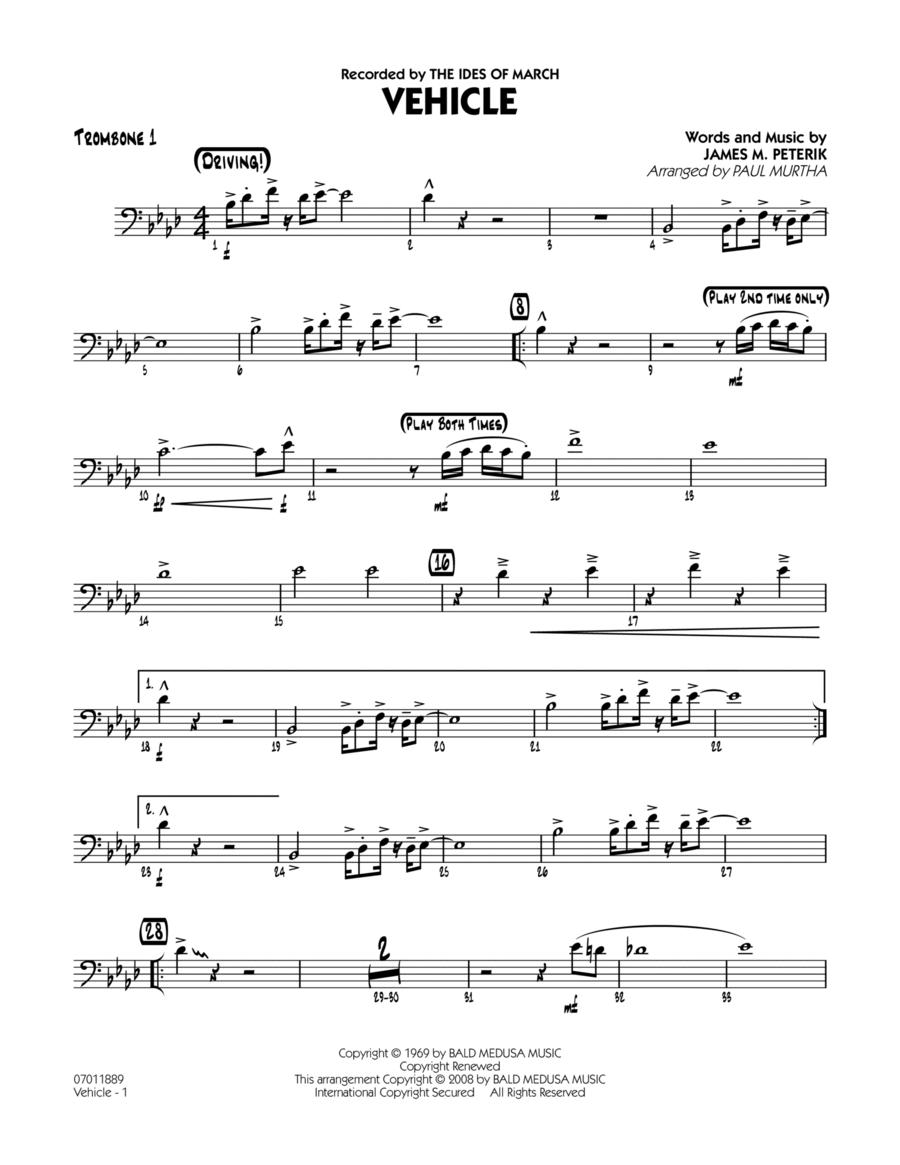 Vehicle - Trombone 1
