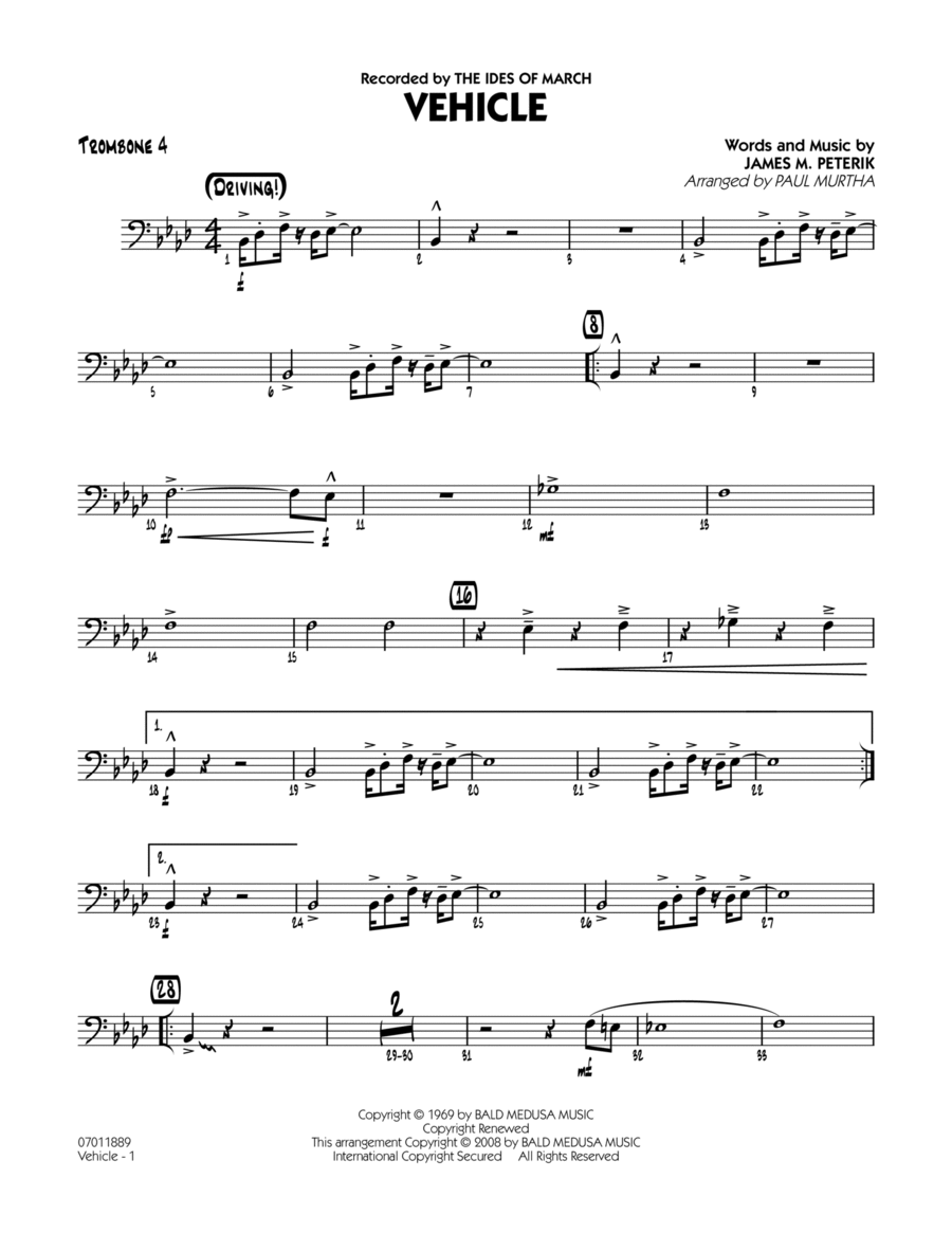 Vehicle - Trombone 4