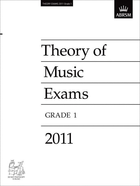2011 Theory of Music Exams Grade 1