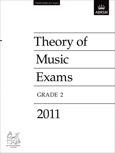 2011 Theory of Music Exams Grade 2