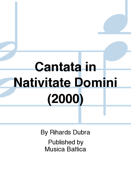 Cantata in Nativitate Domini (2000)