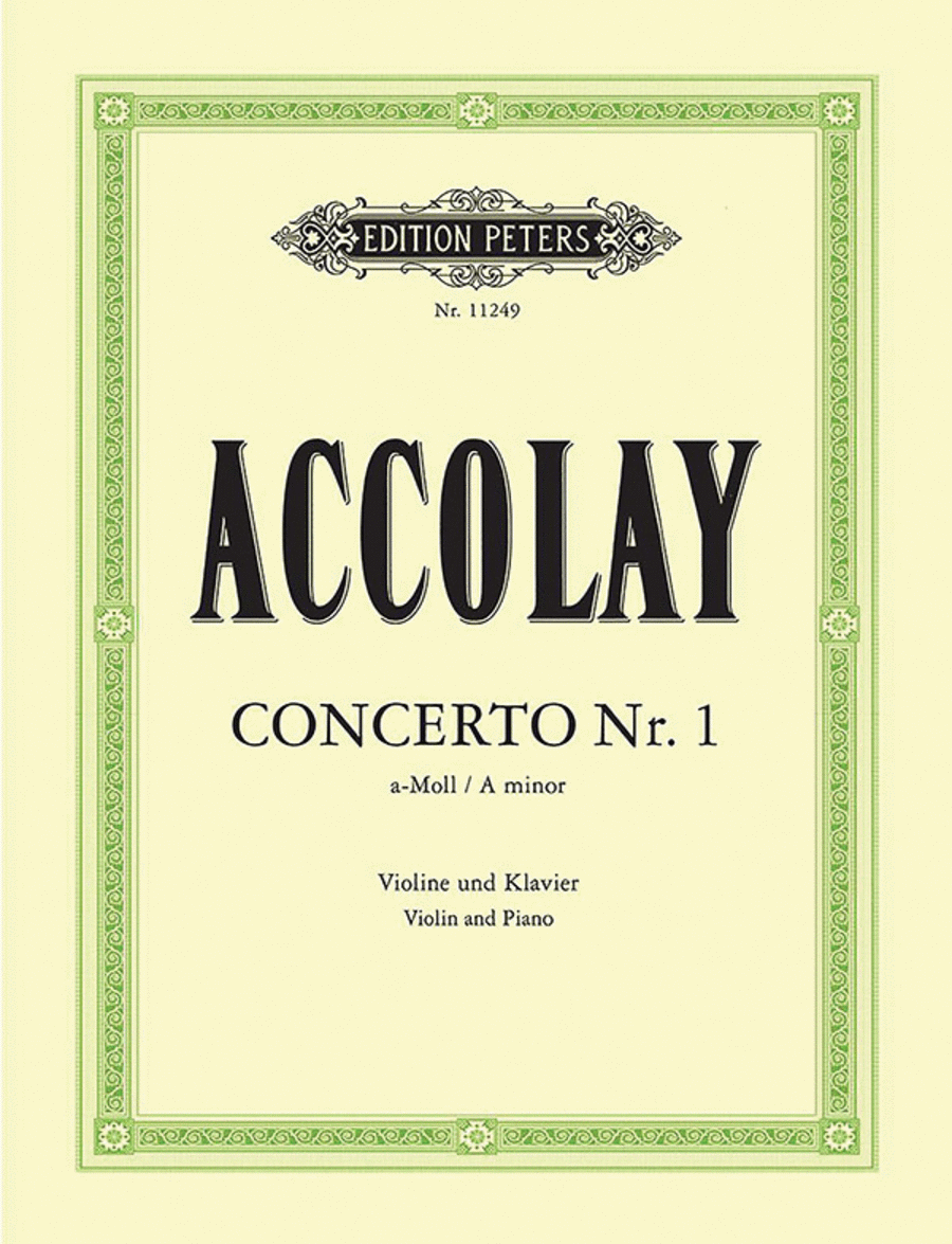 Concerto No.1 in a minor