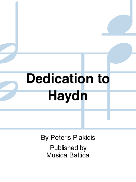 Dedication to Haydn