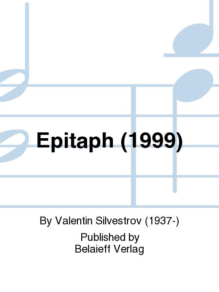 Epitaph (1999)