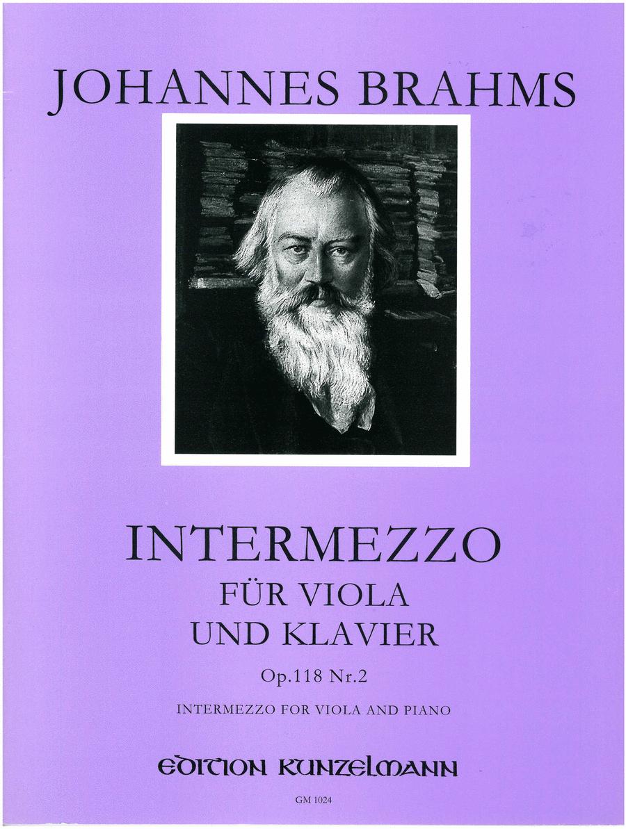 Intermezzo Op. 118 No. 2