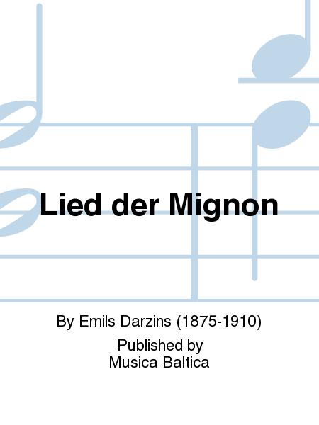 Lied der Mignon