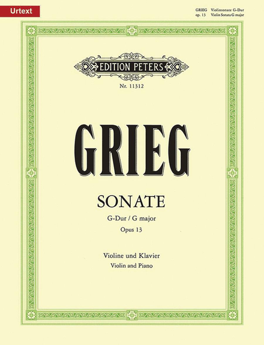 Sonata No. 2 in G Major Op. 13