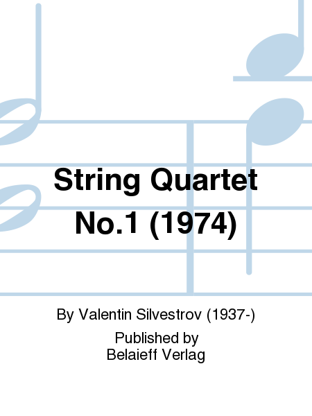String Quartet No.1 (1974)