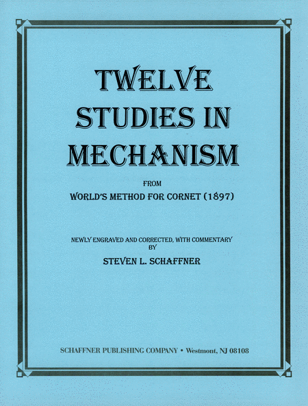 Twelve Studies In Mechanism