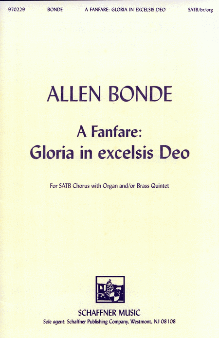 A Fanfare: Gloria In Excelsis Deo