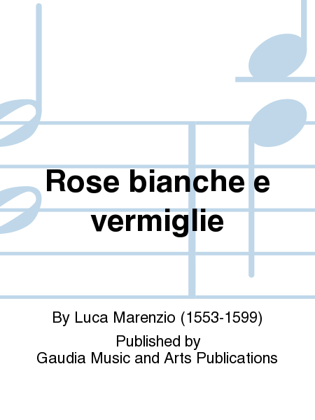 Rose bianche e vermiglie