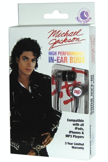 Michael Jackson (Bad) - In-Ear Buds