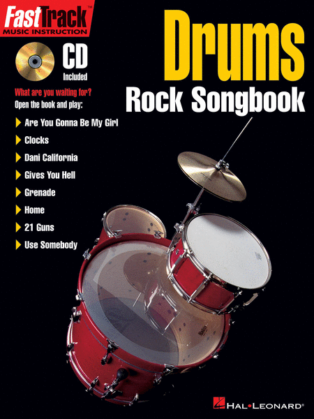 FastTrack Drums Rock Songbook