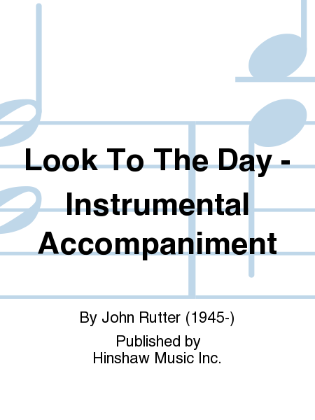 Look To The Day - Instrumental Accompaniment