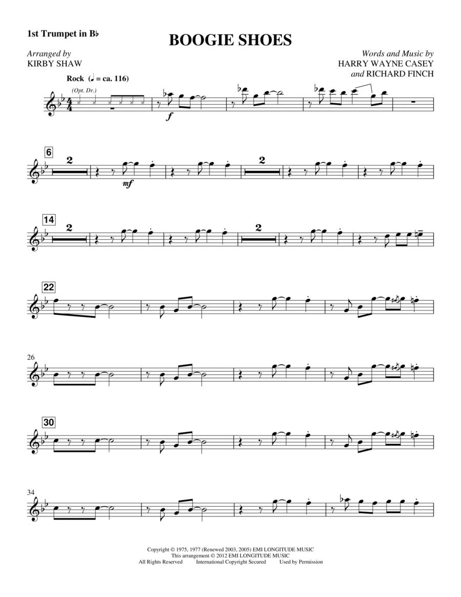 Boogie Shoes - Trumpet 1