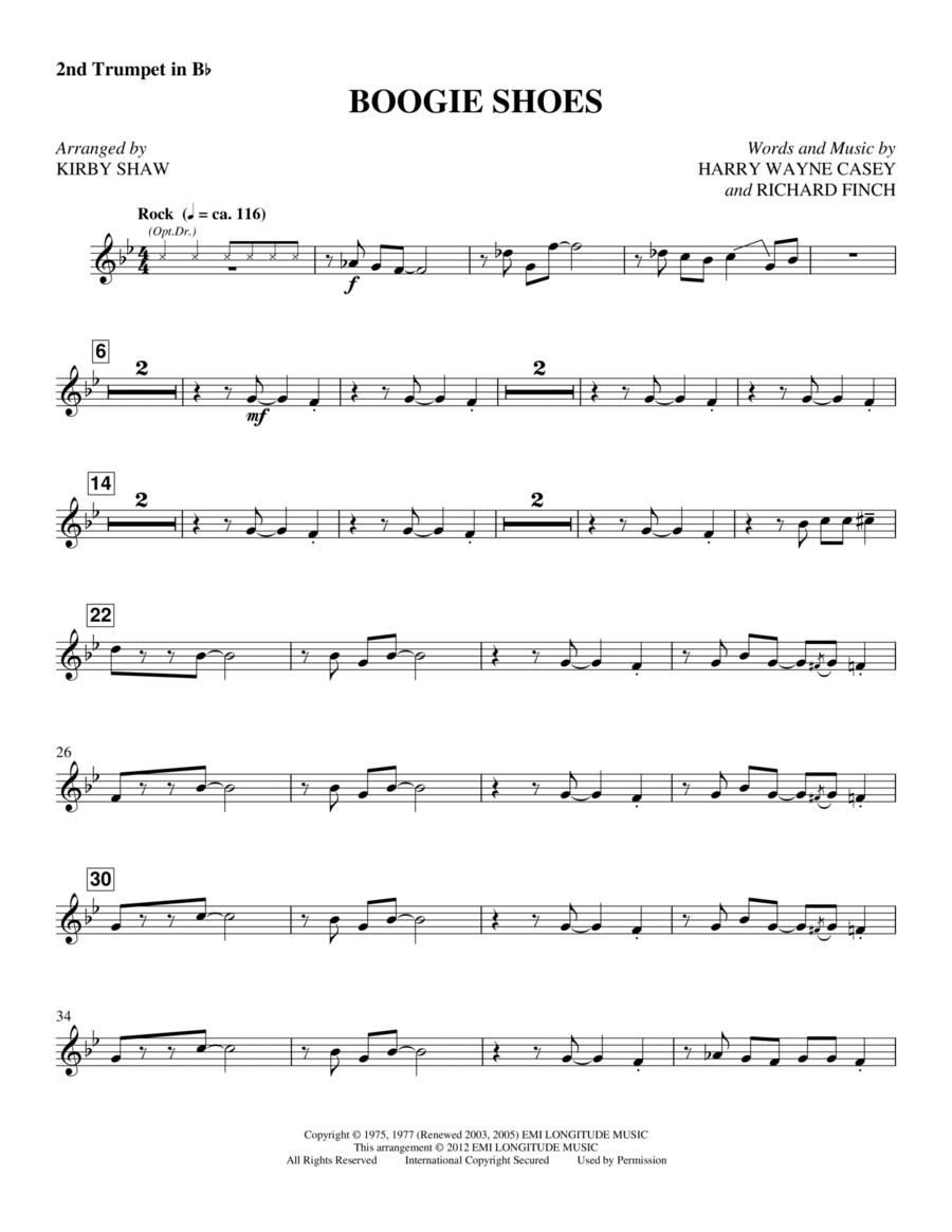 Boogie Shoes - Trumpet 2