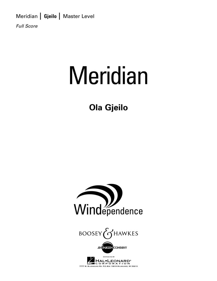 Meridian - Conductor Score (Full Score)