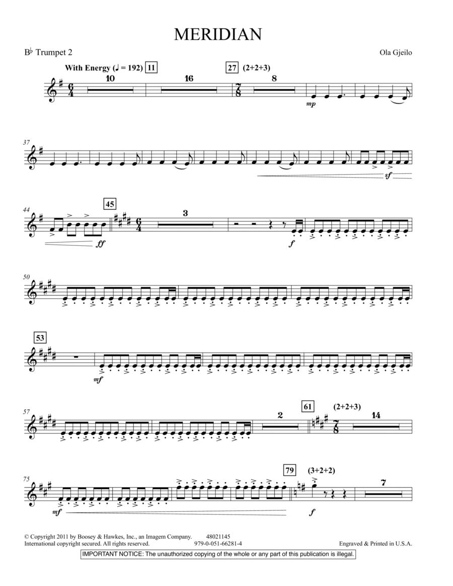 Meridian - Bb Trumpet 2