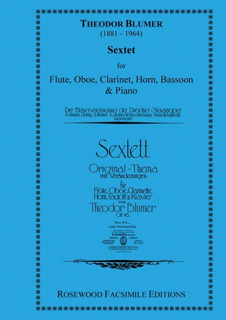 Sextett Op.45