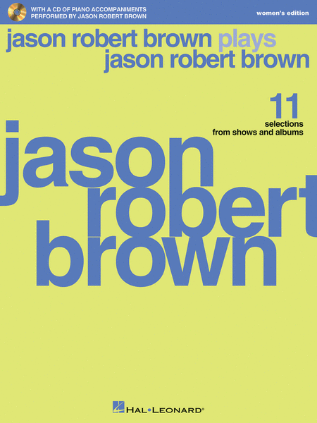 Jason Robert Brown Plays Jason Robert Brown