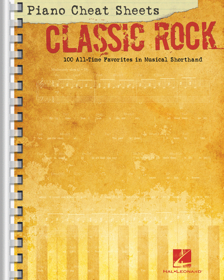 Piano Cheat Sheets: Classic Rock