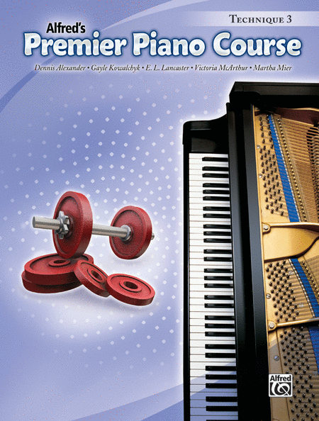 Premier Piano Course Technique, Book 3