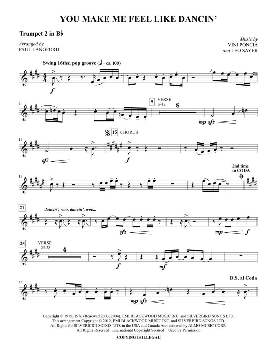 You Make Me Feel Like Dancing - Trumpet 2