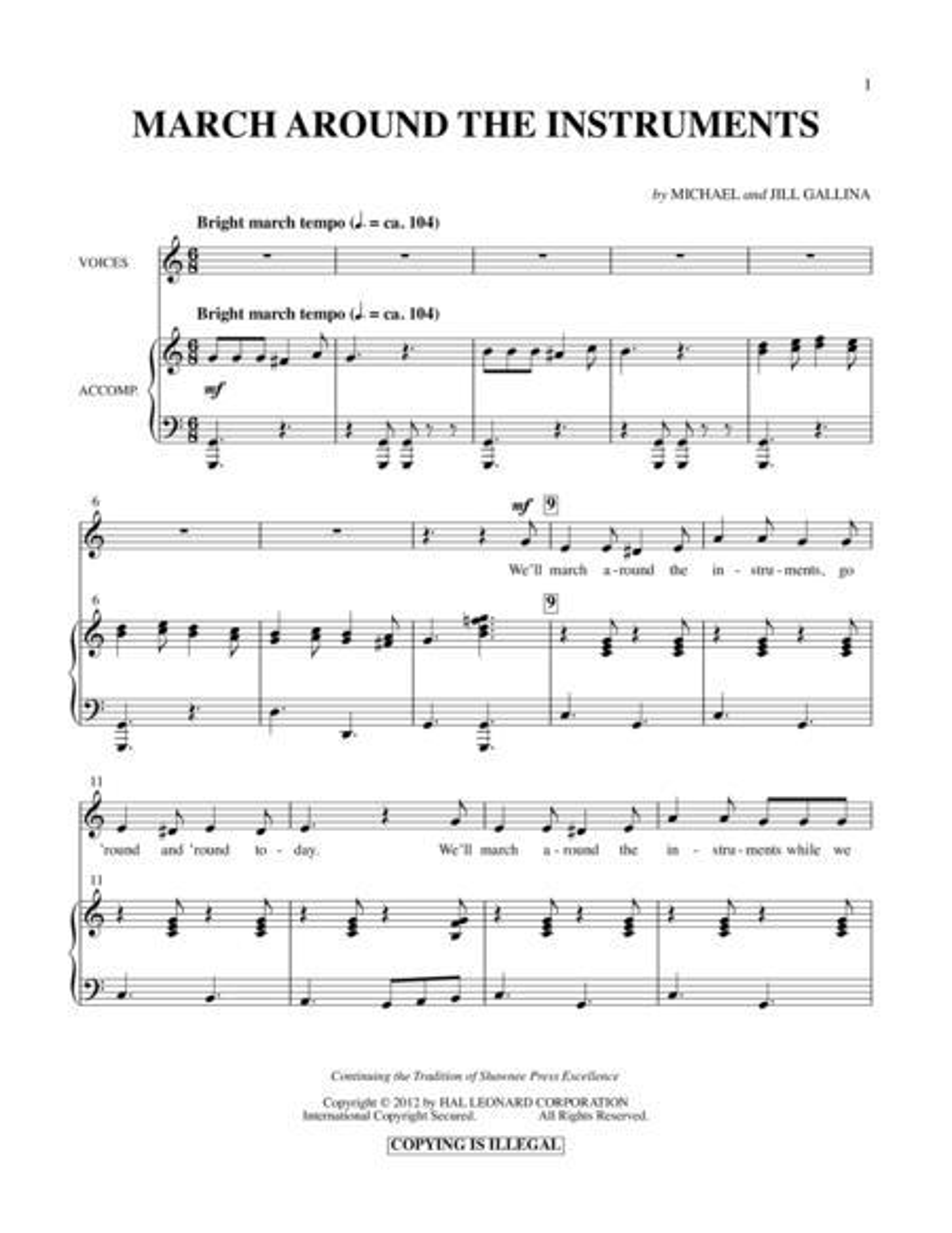 March Around The Instruments