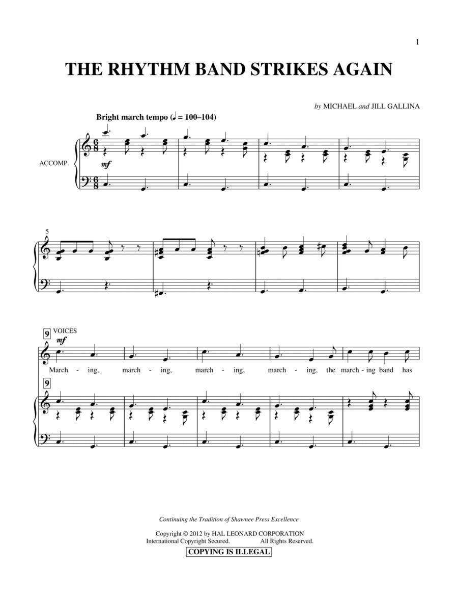 The Rhythm Band Strikes Again