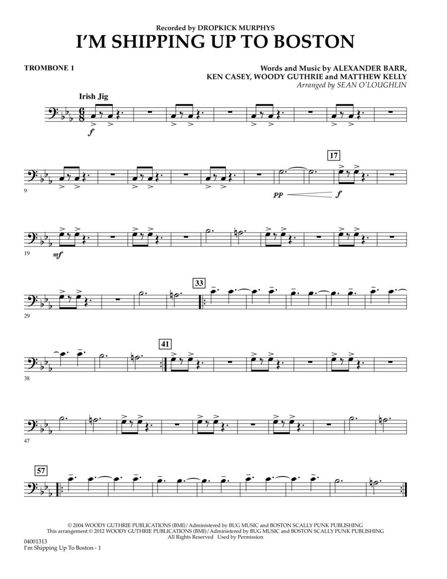 I'm Shipping Up To Boston - Trombone 1