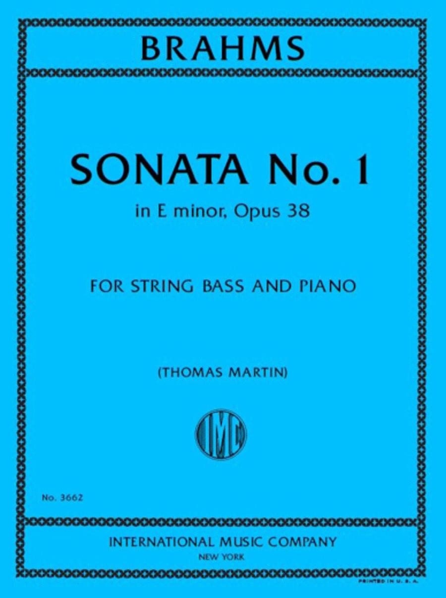 Sonata No. 1 in E minor, Opus 38
