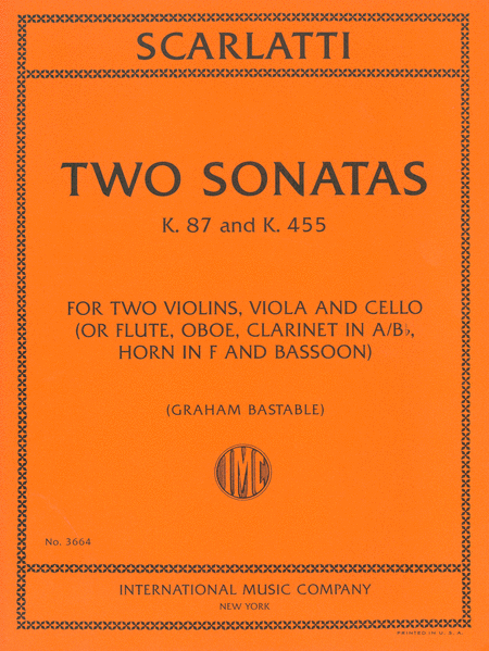 Two Sonatas, K. 87 and 455