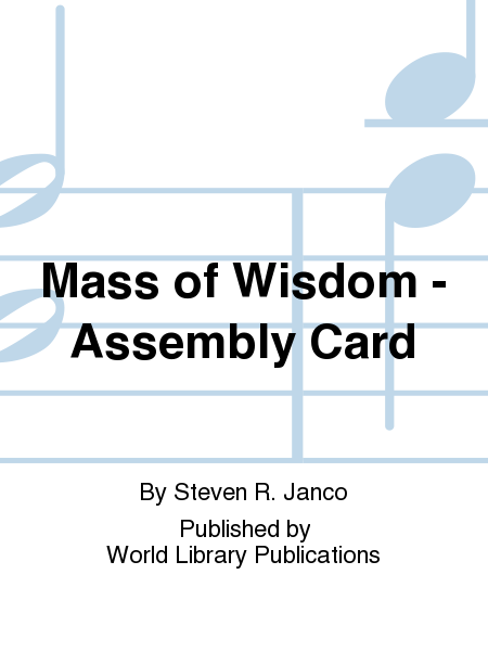 Mass of Wisdom - Assembly Card