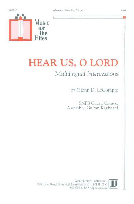 Hear Us, O Lord