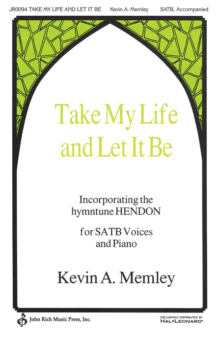 take my life sheet music pdf