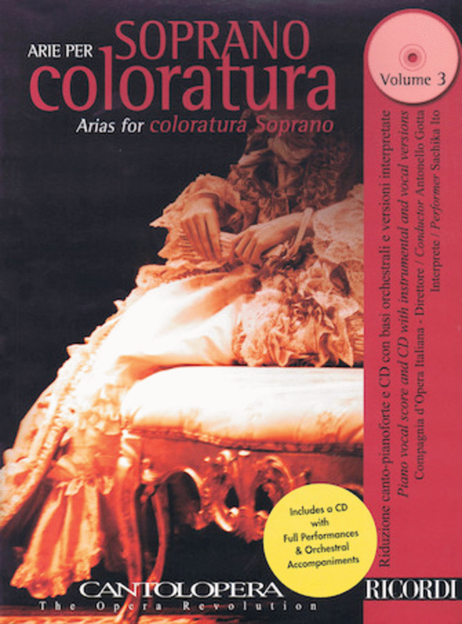 Arias for Coloratura Soprano, Vol. 3