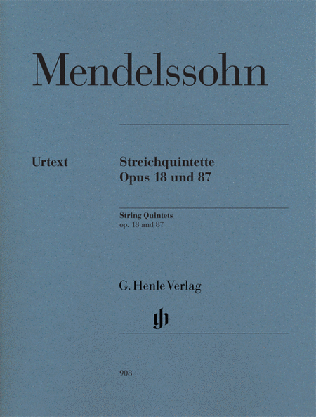 String Quintets, Op. 18 and 87