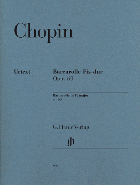 Frederic Chopin - Barcarolle in F-sharp Major, Op. 60