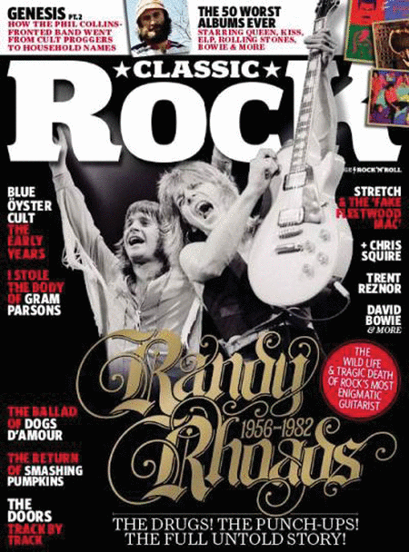 Classic Rock Magazine - March 2012 Issue