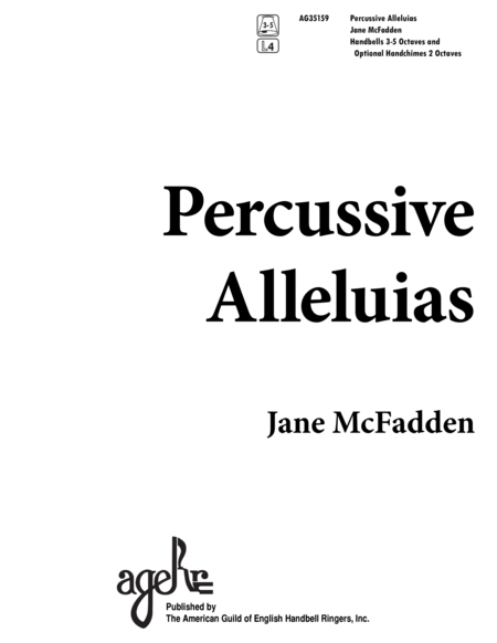 Percussive Alleluias