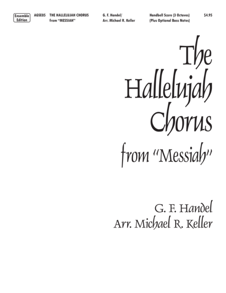 The Hallelujah Chorus from