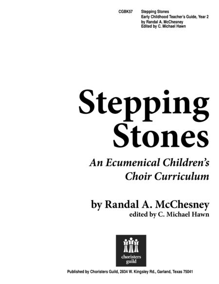 Stepping Stones, Early Childhood - Teacher's Guide (Yr 2)