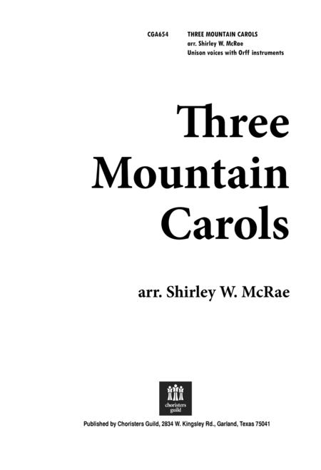 Three Mountain Carols