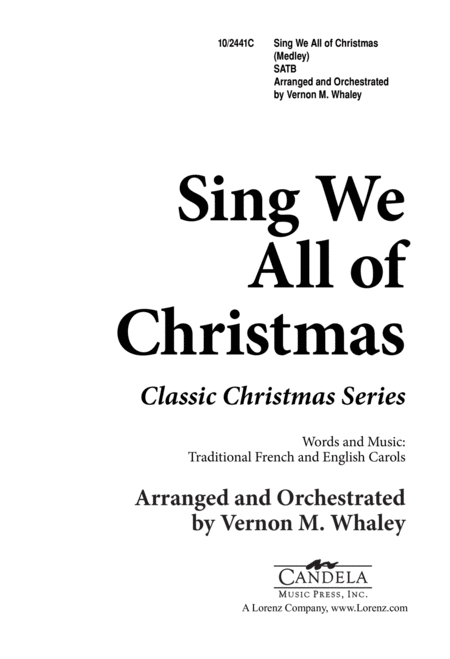 Sing We All of Christmas